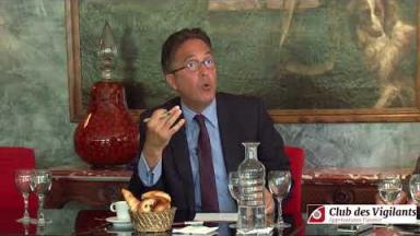Pour Aquilino Morelle la future opposition doit être celle du non à l'Europe (extraits)